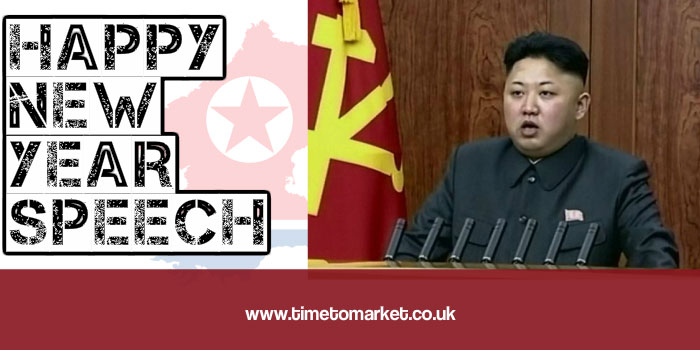 New Year Speech From North Korean Well Wisher Kim Jong un New year speech