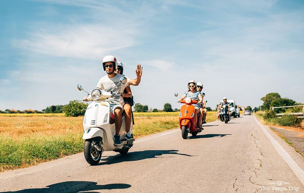 Ontdek het mooie Toscane met je vrienden!