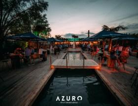 Azuro Zomerbar in Kortrijk