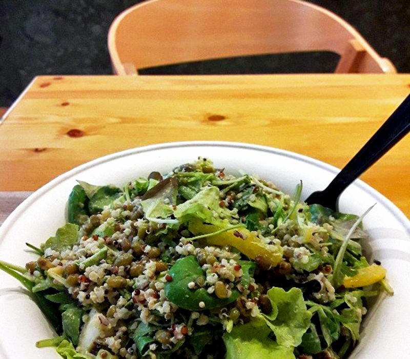 green & healthy lunchen Athene