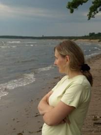 Järve rannas pärast vihma