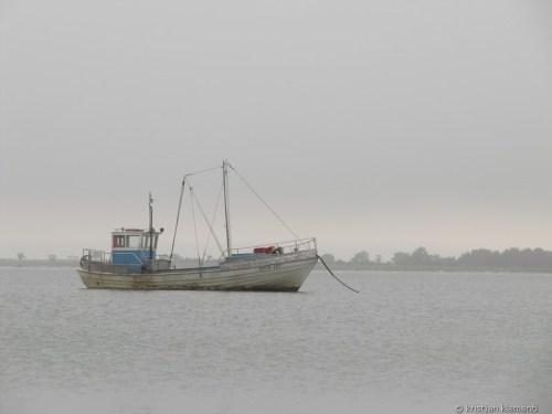 Laev udus, Sõrve juures