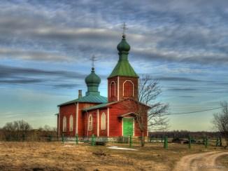 Metsküla kirik, hdr