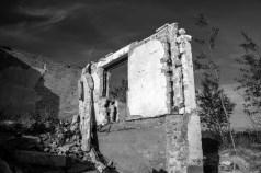 Kiipsaare majakavahi maja, või mis sellest vel alles on.