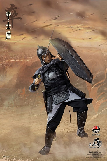 Soldier And Soldier Shield Action Figure Set Three