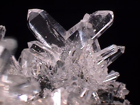 crystals, rock, cut glass