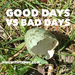 #inspiration, challenges, good days, bad days
