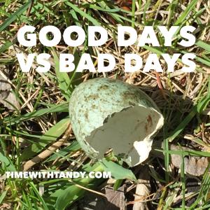 #inspiration, challenges, good days, bad days