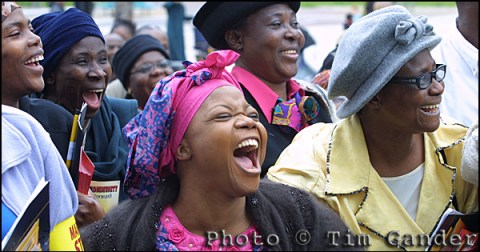 black ladies laughing