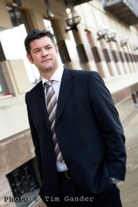 corporate portrait of businessman in Bristol
