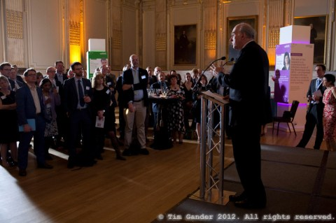 Dr Vince Cable speaks at the BBSRC Innovator of the Year awards, London