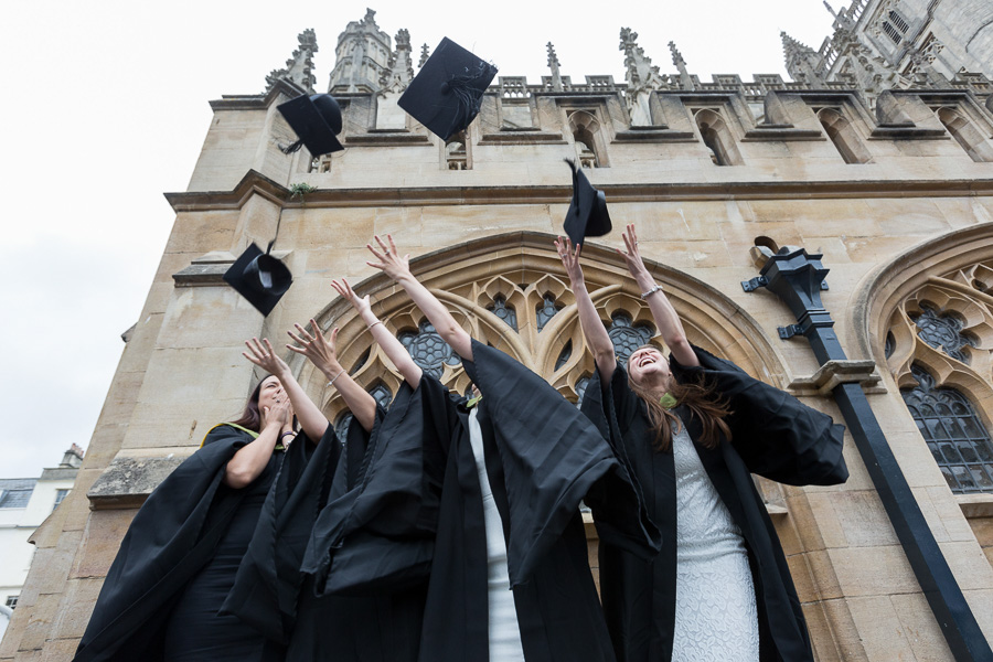 28/06/2016 Image from University of Bath Graduation Ceremony 3, Bath Abbey.