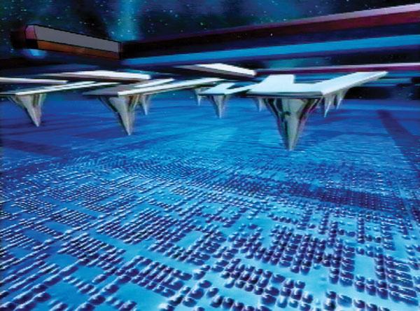 IBM Millipede nanotechnology