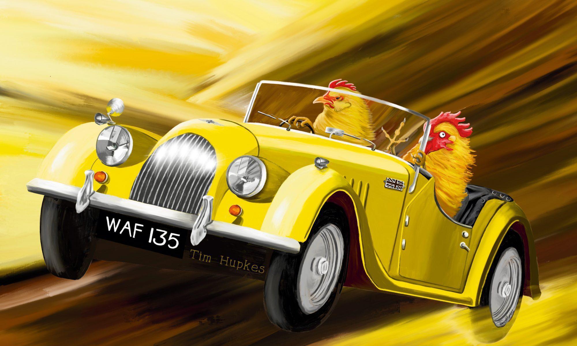 Fearless (yellow Morgan Plus 4, 1956)