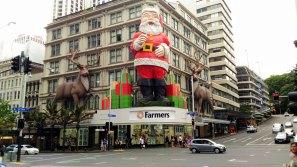 Auckland père noël