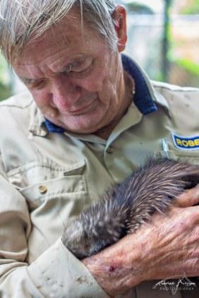 Robert et le kiwi Sparky