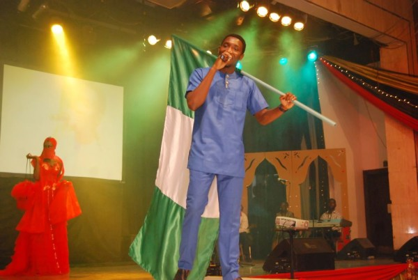 Timi Dakolo at the Arabian Night for Sickle Cell Event.