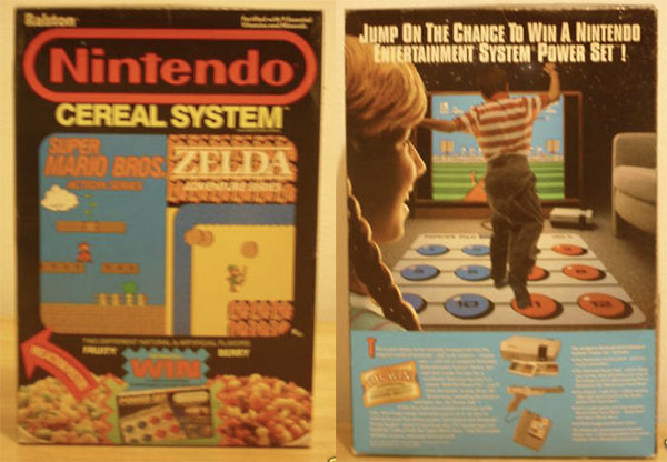 Nintendo Cereal System