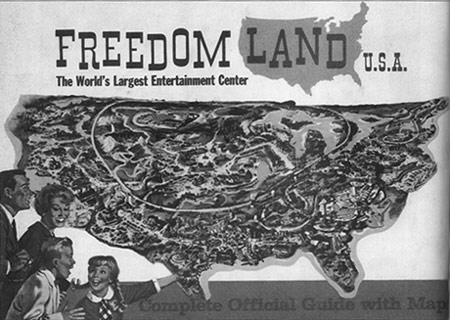 Freedomland Map