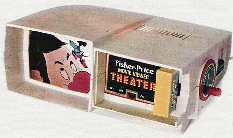 Fisher Price Movie Viewer