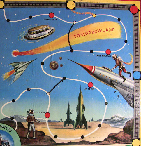 Disneyland Board Game
