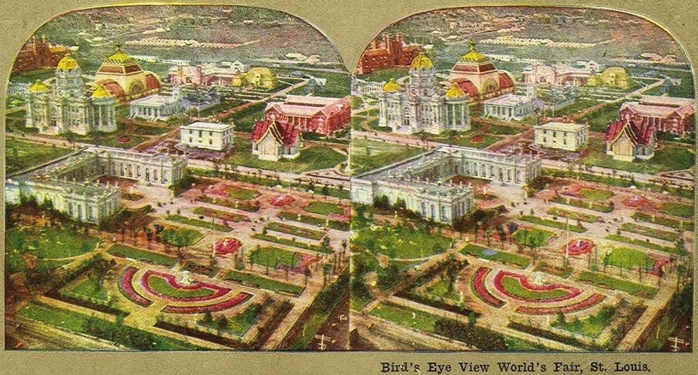 Birds Eye 1904 World's Fair
