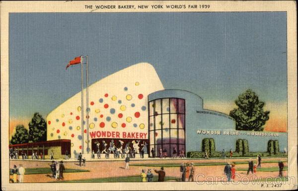 Wonder Bakery Postcard