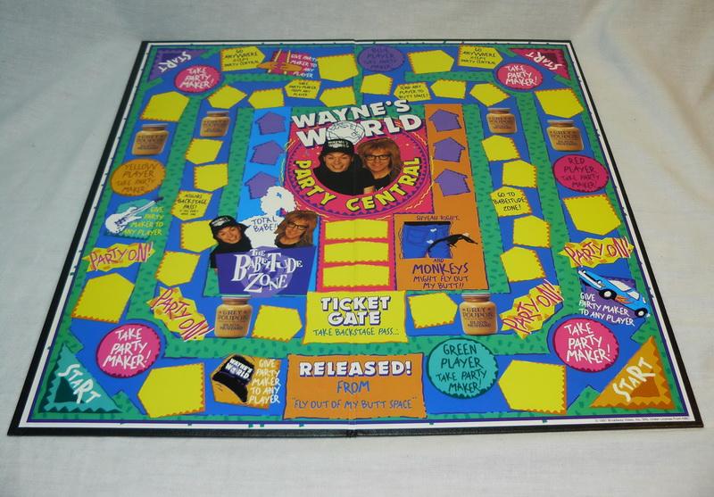 Wayne's World Board Game