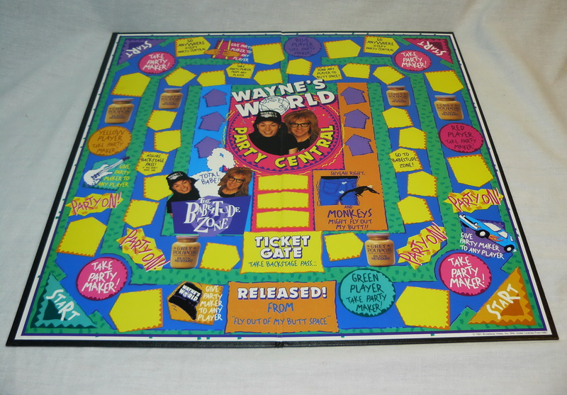 Wayne's World Board Game