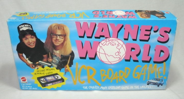 Wayne's World Board Game Cover