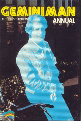 Gemini Man Annual (rear)