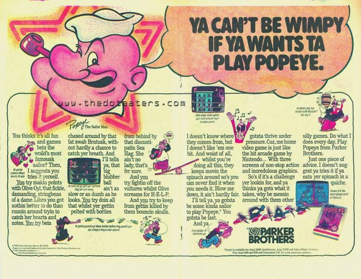 Popeye ad