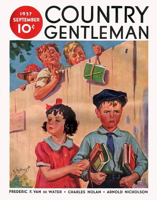 Country Gentleman Schoolkids