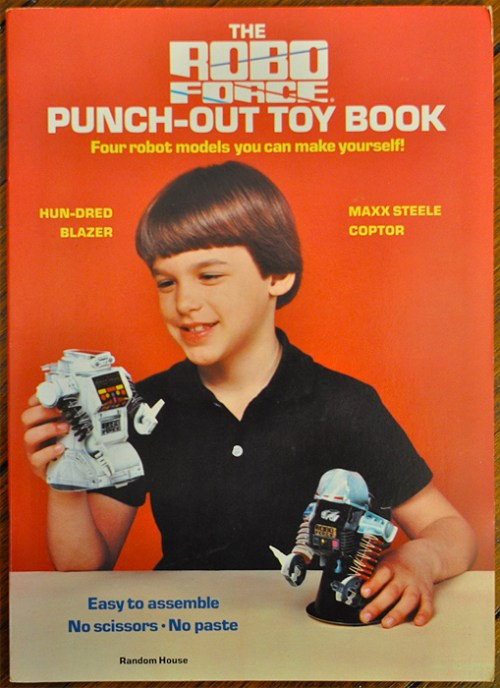 Robo Force Punch Out Toys