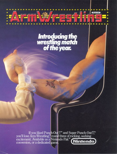 Nintendo Arm Wrestling