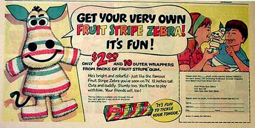 Fruit Stripes Ad