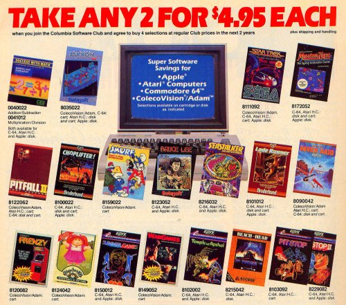 Columbia House Games
