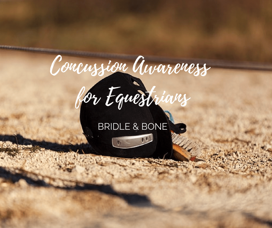 Concussion Awareness for Equestrians