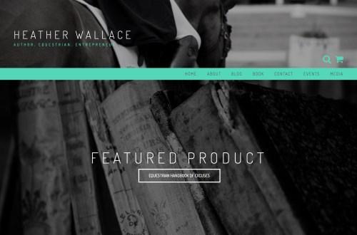 Heather Wallace, Author. Equestrian. Entrepreneur.