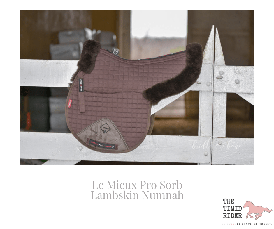 Luxurious Riding with the Le Mieux Pro Sorb Lambskin Numnah