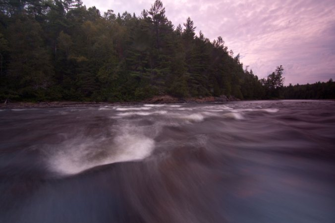 Coulonge River rapids, near Réserve faunique La Vérendrye, Quebec