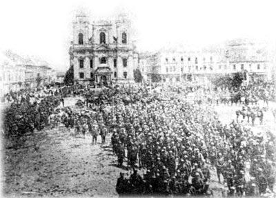 Intrarea Trupelor Romane in Timisoara