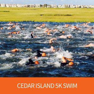 Cedar Island 5K Swim - Tim Kerr Charities