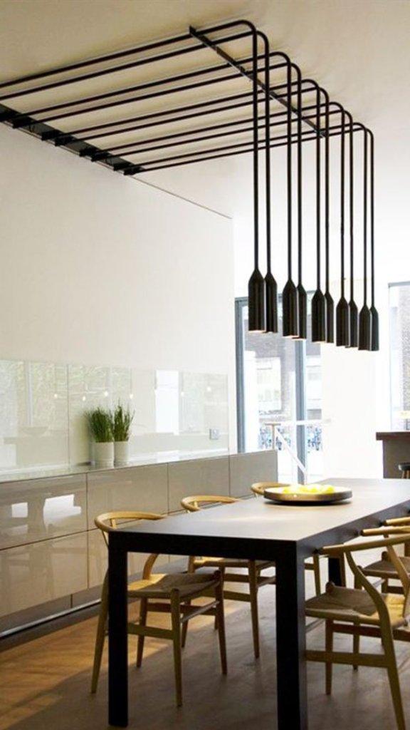 Inspiratie tim knubben binnenhuisarchitect for Wandlamp boven eettafel