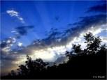 Ighil Bougueni - Magestueux lever du soleil sur le village - Salem Mezaib
