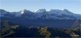 Ighil Bougueni - Panoramique sur le Djurdjura - Salem Mezaib