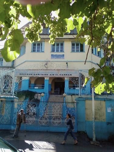 l'hôpital de Aïn El Hammam