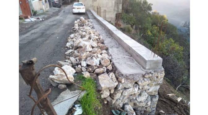 Appel à dons. Sécurisation d'un tronçon de la route du village Ighil Bougueni.