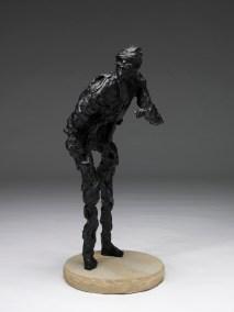 "Stargazer   2004   bronze   42""   alt ""Colorado. Roughneck. Oil Rig. 1936. Dorvin Cornell. Big Boy."""