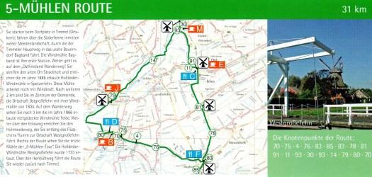 5-Mühlen-Route in Großefehn